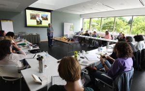 Barb Kreski teaches a Horticultural Therapy certificate class